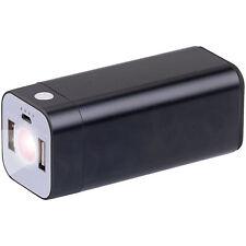 revolt USB-Powerbank mit 8.000 mAh und LED-Taschenlampe, 2,1 A, 100 Lumen