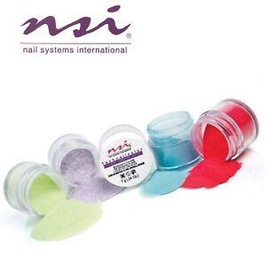 NSI Technailcolor Assorted Coloured Acrylic Powders 7grm