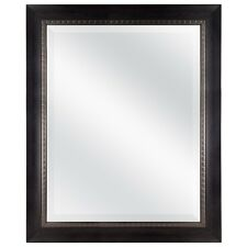 MCS 27.5x33.5 Inch Frame with 22x28 Inch Sloped Mirror, Walnut (20568)