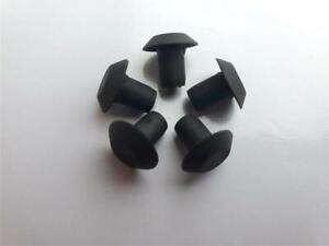 5 Lot OEM GM Trunk Deck Lid Panel Moulding Clip Cap Rubber Drain Plug 15259076