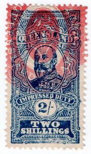 (I.B) Australia - Queensland Revenue : Impressed Duty 2/-