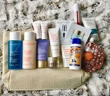 Clarins Job Lot Set With Additional Beauty Items & Clarins Large Make Up Bag