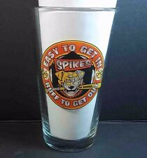Coors light pint beer glass Spike's Doghouse Bar Spokane Wa Ruff to get out