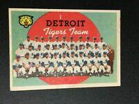 F62682  1959 Topps #329 Detroit Tigers CL