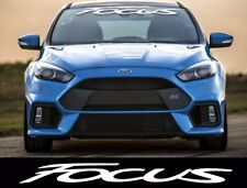 Ford Focus windshield decal sticker adhesive se hatchback zx3 zx5 rs st