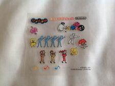RHYTHM TENGOKU Nintendo Game Boy Advance GBA STICKER SET *STICKERS ONLY* GENUINE