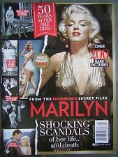 """Sept. 2012 Enquirer's MARILYN """"50 Years After She Died"""" Special Feature Magazine"""