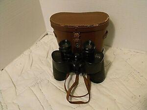 Selsi Binoculars 31015 Luminos 8x40 w/Case Optically Treated 65 Deg Japan  VGC