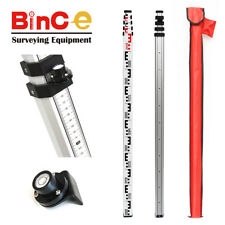 Aluminium Staff 5m Metric for Rotating Rotary Laser Level Automatic Dumpy Level