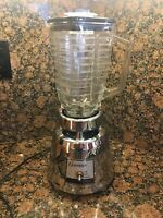 Vintage Osterizer Classic Chrome Beehive Blender with 5 Cup  Glass Pitcher
