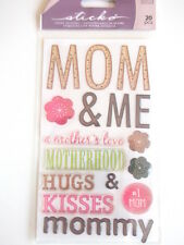 STICKO EPOXY STICKERS - MOM & ME a mother's love