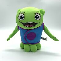 """Dreamworks """"Home""""! green Boov 9"""" Plush Stuffed Toy Toy Factory 2015"""