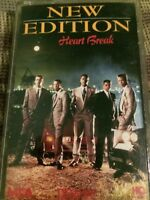 NEW EDITION HEART BREAK (MCA, 1988 Cassette) Complete Play's Perfectly.