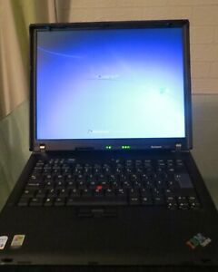 Vintage Lenovo ThinkPad R60e  GHz 15.1'' laptop working
