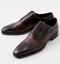NIB $895 CANALI 1934 Goodyear Welt Two-Tone Balmoral US 8.5 D Dress Shoes