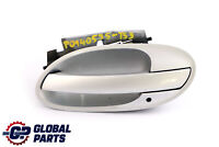 BMW 7 Series 3 E65 E66 Outer Door Opener Front Left N/S Titansilber Silver 354
