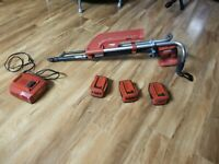 1500$ value HIlti ST 1800-A22 kit with SDT5 Autofeed system for roofing and deck