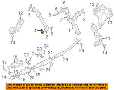 NISSAN OEM 16-18 Titan XD 5.0L-V8-Exhaust Pipe Gasket 14038EZ40B