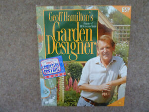 Geoff Hamilton's Garden Designer Software PC CD-ROM Boxed with User Guide