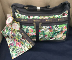 LeSportsac7507 Exclusive Christie Shinn DeLuxe Everyday Bag Aloha Market NWT