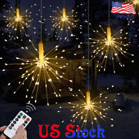 Firework LED Copper Wire Strip String Lights For Wedding Decor LED Fairy Lights