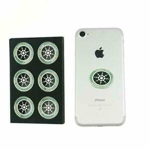 Anti-Radiation EMF Sticker Quantum Shield for Cell Phone PACK OF 6, 12, 18, 24
