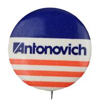 Antonovich Political Pin Button Pinback