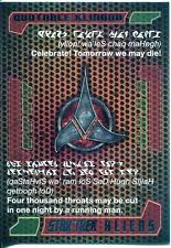 Star Trek Aliens Chase Quotable Klingon Q6