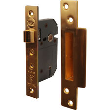 NEW Yale BS 5 Lever Mortice Sashlock 76mm Polished Brass Each
