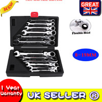 12pc/set Chrome Vanadium Flexible Combination Spanners Ratchet Wrench Tool Kits