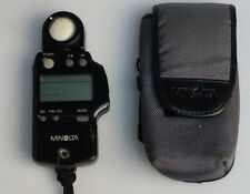 Minolta Auto Meter IV-F Ambient Flash Light Meter w/ Case WORKS