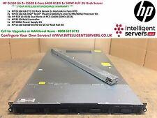 HP DL160 G6 2x E5620 8-Core 64GB B110i 1x 500W 4LFF 1U Rack Server - 491532-B21