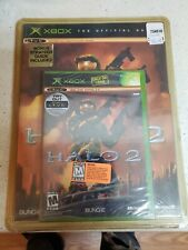 Halo 2 (Microsoft Xbox, 2004) W/Bonus Strategy Guide Included NEVER OPENED read