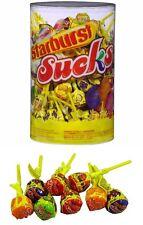 Bulk Lot 100 x Starburst Sucks Assorted 13g Lollipops Lolly Pops Candy Buffet