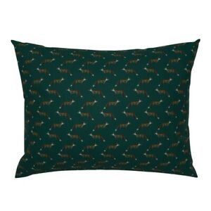 Woodland Fox Hunting British Countryside Fox Hunt Pillow Sham by Roostery