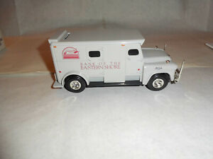 """ERTL #H491 """"Bank Of Eastern Shore"""" 1959 GMC Armored Truck 1/32 Scale MIB NOS"""