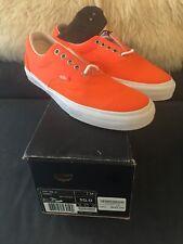 Vans Syndicate X Carhartt 3M Era Tab S Orange Size 10 New In Box