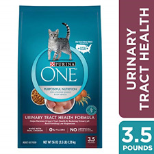 Purina ONE Urinary Tract Health Dry Cat Food, Urinary Tract Health Formula - 3.5