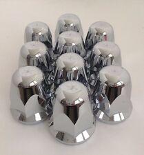 Alcoa 33mm screw-on Chrome Lug Nut Covers one piece design (pack of 10)