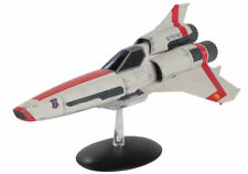 Battlestar Galactica Viper Mark 2 Die Cast Spaceship w Free Patch- Eaglemoss