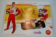 2005 Sebastien Bourdais McDonald's Champ Car Promo Card Lola Ford