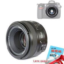Yongnuo YN50mm F1.8 Auto Focus Lens Large Aperture MF AF For Nikon Camera UK