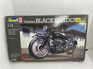 Revell 07920 Vincent Black Shadow Motorcycle Plastic KIT 1:12 - NEW OPEN BOX