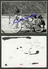 Foto Moped Roller Puch Lyx VS 50 L Staudamm Silvretta Bielerhöhe Partenen 1964!!
