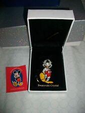 Mickey Mouse Arribas Swarovski Figurine 1997