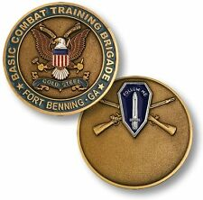 Basic Combat Training Brigade Challenge Coin Fort Benning Georgia BCT US Army Ft
