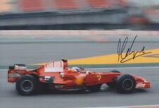 Marc Gene Ferrari Mano Firmado Foto 12x8 1.