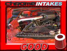 BLACK RED 97 98 99-02 JEEP WRANGLER SE/SPORT/SAHARA 2.5L I4 AIR INTAKE KIT TBH