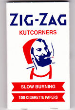 ZIG-ZAG KUTCORNERS SLOW BURNING 100 ROLLING PAPERS 1 PACK