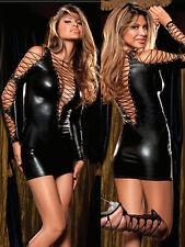 Halloween Womens Lingerie Fetish Fancy Dress Costume Dancewear Clubwear